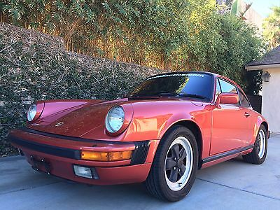 1986 Porsche 911 COUPE 1986 PORSCHE 911 ALL ORIGINAL COUPE! LOW MILEAGE! HEAVILY OPTIONED!