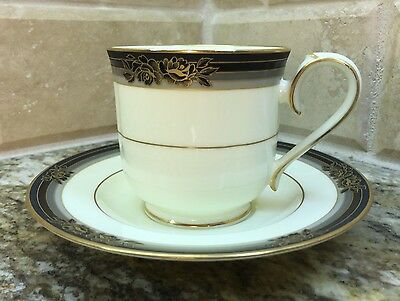 Noritake SPELL BINDER #9733 bone china - CUP AND SAUCER set - unused