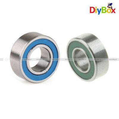 10PCS MR105-2RS MR115-2RS 5x10x4 5x11x4mm Double-shielded Miniature ball Bearing