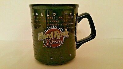 Hard Rock Cafe Queenstown New Zealand Limited Edition Mug Coffee Cup 30 Htf Rare