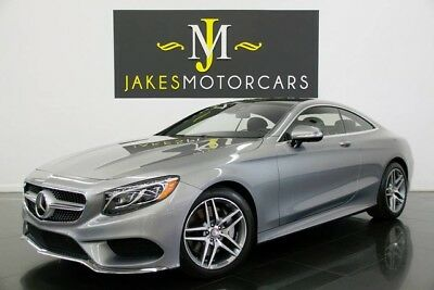2015 Mercedes-Benz S-Class S550 Coupe Sport Pkg ($147K MSRP!)..$50K OFF MSRP! 2015 MERCEDES S550 COUPE 4MATIC SPORT PKG, $147K MSRP! ONLY 6600 MILES, LOADED!