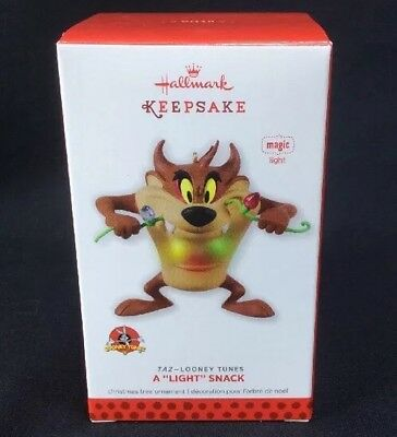 Hallmark Keepsake Ornament 2013 Taz Looney Tunes A Light Snack Robert Chad