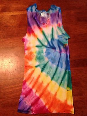 BABY GIRL BOY SINGLET SIZE 0. TIE DYE Comfy Starbuttz Hand Dyed Singlet. For👶
