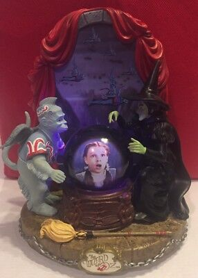 San Francisco Music Box Wicked Witch Song Dorothy Wizard Of Oz Globe Motion