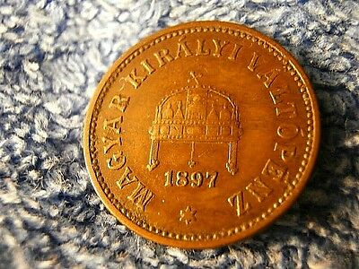 Hungary; Scarce 2 Filler 1897-Kb  Very Fine++++ To Extremely Fine!!