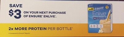 Ensure Enlive Coupons Canada