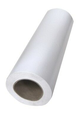 BULK - White Gift Wrapping Paper Roll - 250mm x 60m metres - 80gsm Gloss Finish