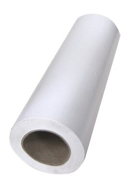 NEW Gloss White Gift Wrapping Paper Roll - Bulk - 250mm x 60m metres - 80gsm