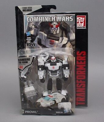 Transformers Generations Combiner Wars Deluxe Class Prowl Figure DAMAGE BOX