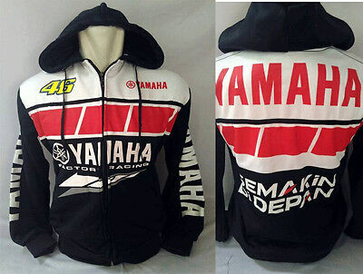 NEW YAMAHA 50th Anniversary Special ROSSI MotoGP Pit Jacket Hoodie M L XL Sz