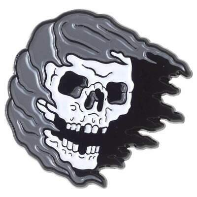 Kustom Kreeps Enamel Reaper Skull Rockabilly Gothic Retro Punk Tattoo Sourpuss