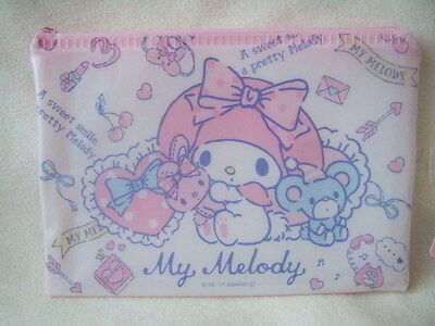 Sanrio My Melody  flat pouch purse NEW
