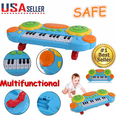 KIDS Toddler Infant Musical Piano Developmental Toys Early Educational Game BBQ