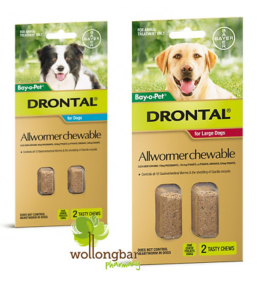 Drontal Allwormer Chewable for Dogs Bayer