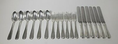 Set of silver cutlery for 6 pers, 18 items. Russian Empire St. Petersburg, 1895.