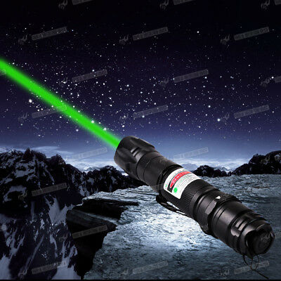 8000M 532nm 1mW Green Laser Pointer Pen Beam Mark Direct Clip Electronics