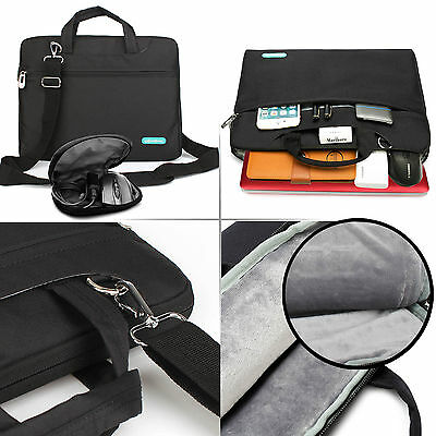 "15.6"" Laptop Shoulder Sleeve Computer Messenger Case Bag For Ultrabook Acer Dell"