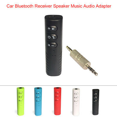 3.5mm AUX Handsfree Wireless Car Bluetooth Receiver Music Stereo Audio Adapter