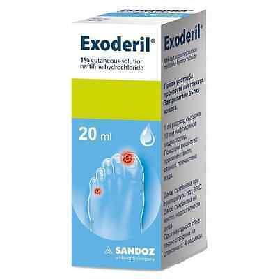 Exoderil by Sandoz 20 ml - Free shipping and 1st class registered mail