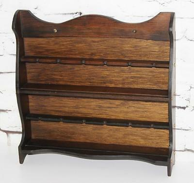 Vintage Wall Rack Organizer Display Unit - FREE P&P [PL3672]
