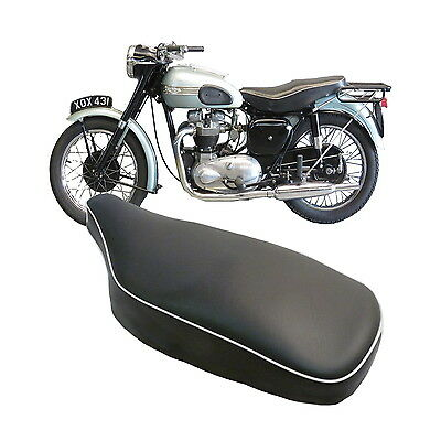 Triumph 5T Speed Twin Tr5 Trophy T110 T120 Long & 6T Tbird 1954-59 Seat Cover