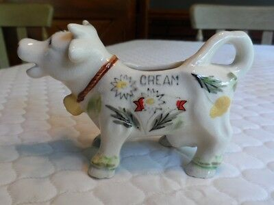 Vintage Cow Creamer Hand Painted and Numbered S775