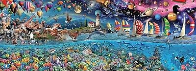 Educa 3,000 Piece Panorama Jigsaw Puzzle - Life The Greatest Puzzle