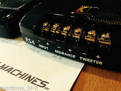 KICKER RESOLUTION PAIR CROSSOVER 2-WAY x TWEETER E MEDIUM FROM SET RS4 - NEW