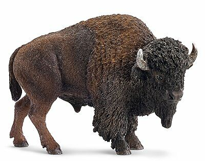 Schleich American Bison Toy Figure Hand Painted Highly Detailed New
