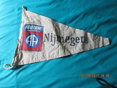 Wwii Us Army 82 Nd Airborne Division Nijmegen Holland Campaign  Banner  Flag