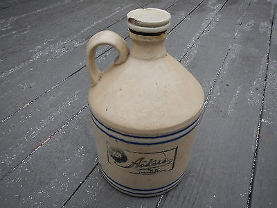 OLD RARE ACKERS JUG Antique Vintage SCREW DOWN TOP LID