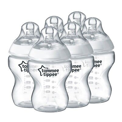Tommee Tippee Closer to Nature 260 ml / 9oz Bottles x 6