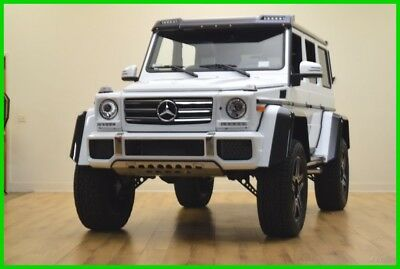 2017 Mercedes-Benz G-Class G 550 4x4 Squared 2017 Mercedes G550 4X4 Squared  Only 477 Miles  Like New !!