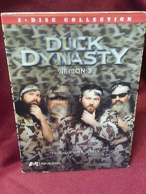 Duck Dynasty Season 3- Two disc collection- ALL 13 episodes on 2 discs