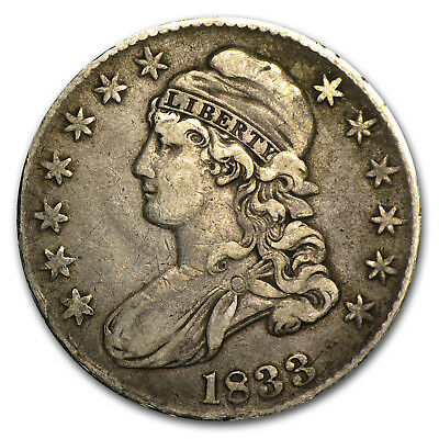 1833 Capped Bust Half Dollar XF - SKU#2372