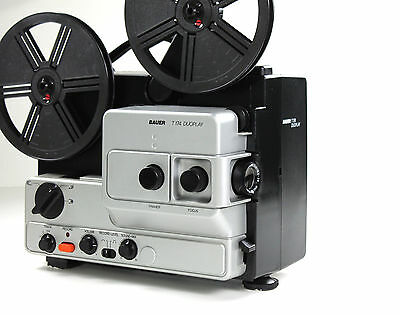 Super 8mm Film projector Bauer T 174 duoplay