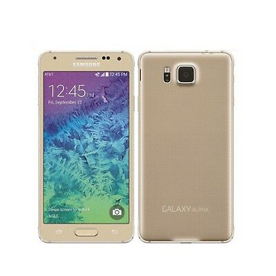 Movil Samsung Galaxy Alpha SM-G850F 32 GB Dorado Usado | A