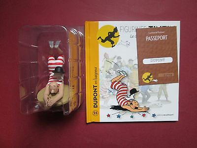 Herge Figurine Tintin La Collection Officielle N°55 Dupont Baigneur Neuf