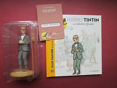Herge Figurine Tintin La Collection Officielle N°83 Igor Wagner Neuf