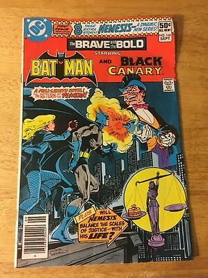 Brave and the Bold #166 from DC Comics!! Batman!! Black Canary!!
