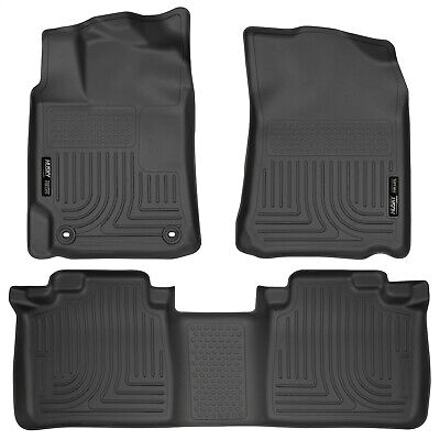 Husky WeatherBeater All Weather Floor Mat Liner Black for 2012-2013 Toyota Camry