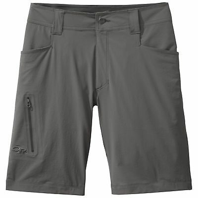 """Outdoor Research Men's Ferrosi 10"""" Shorts Pewter 34"""