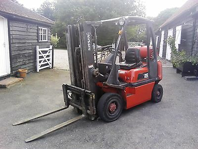 Nissan Fork Truck (2 Ton)