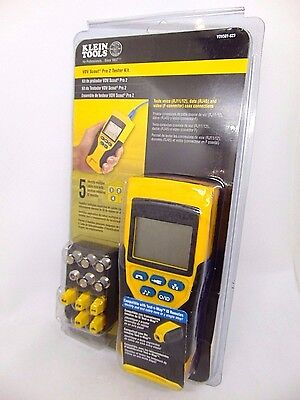 Klein Tools VDV Scout Pro 2 Heavy Duty Portable Cable Mapping Tester Test Kit
