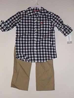 NWT Boys' Toddler Carters 2-Piece Set. BACK TO SCHOOL! Cont U.S. shipping only