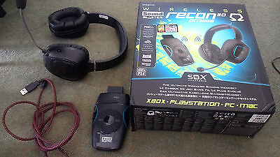 CREATIVE SOUND BLASTER Recon 3D and Omega Wireless Headset Bundle SPARES