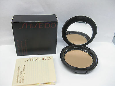 SHISEIDO MAKE UP COMPACT FOUDATION i6 NATURAL DEEP IVORY .45 oz 13 g NEW IN BOX