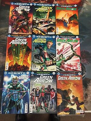 Green Arrow Rebirth Comic Lot