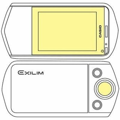 Martin Screen Protectors Fields Overlay Plus Screen Protector (Casio Exilim Lens