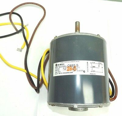 Carrier HC42ME229 Motor ID PSC Bryant 1/3 Hp 825 RPM Blower 115 HC 42ME 229